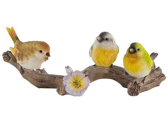 Фигурка птицы на ветке