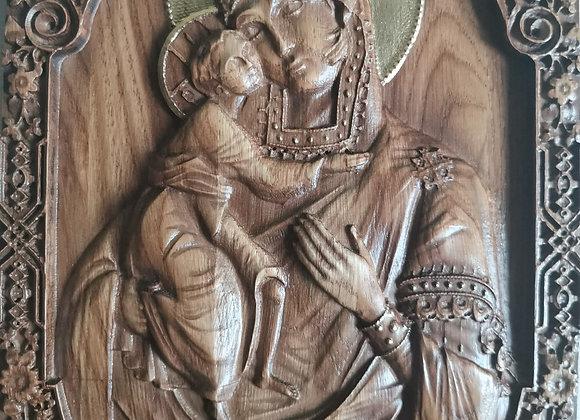 Владимирская икона божьей матери 2
