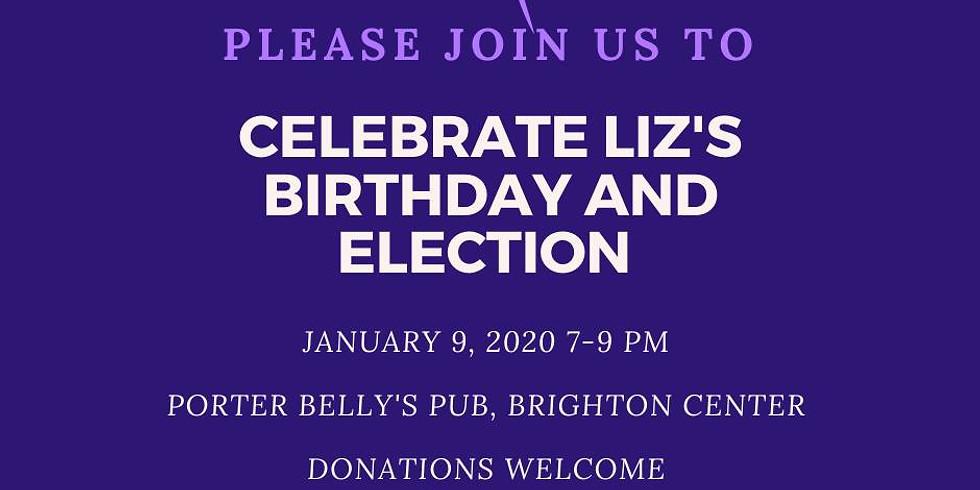 Liz's Birthday and Election Celebration