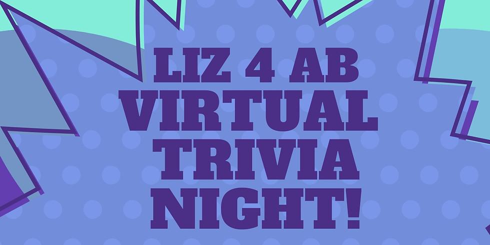 2nd Annual Liz4AB Trivia Night & Fundraiser