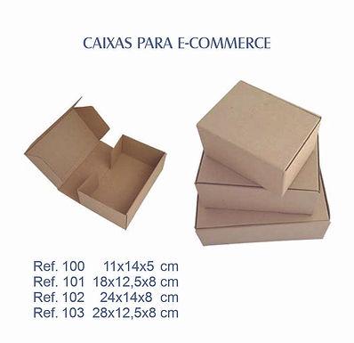 Caixas em papelão ondulado para e-commerce