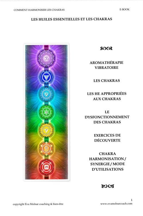Harmoniser les chakras avec des huiles essentielles