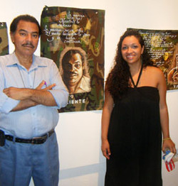 Mario Solis and me,