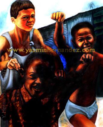 Niños de la Surza