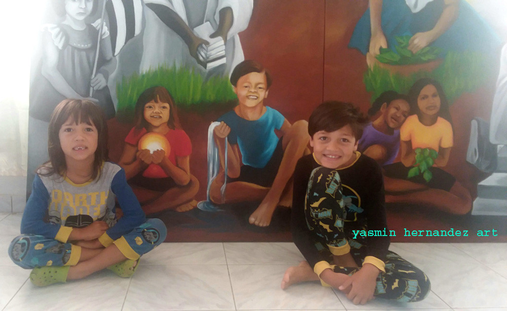 Love Lessons, Yasmin Hernandez' sons