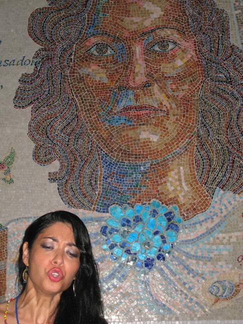 La Bruja at Manny's mosaic