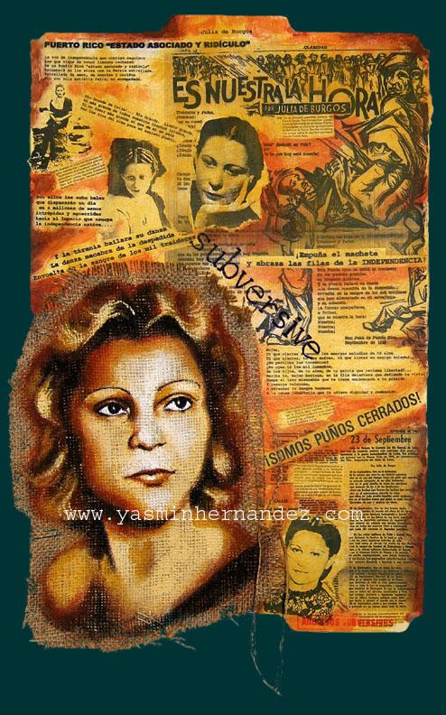 Carpeta: Julia de Burgos, 2007
