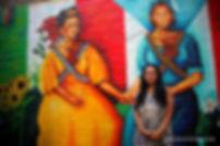 Yasmin Hernandez Art, 2011 East Harlem mural, Soldaderas. Image by Javier Soriano
