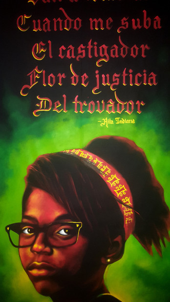 detail, Flor de Justicia (Alma Yarida Cruz)
