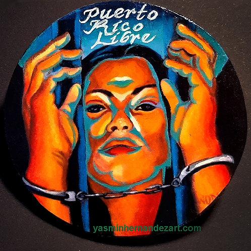 Puerto Rico Libre Magnet