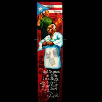 Bright Puerto Rican Red!- Piri Thomas