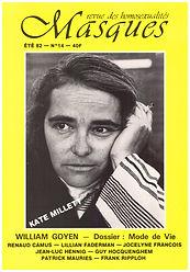 voyage achrien renaud camus revue masques n° 14 1982 entretien