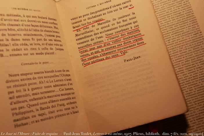 Paul-Jean Toulet, Lettres à soi-même