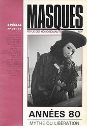 renaud camus ou l'érotique de la douceur masques n° 25/16, 1985