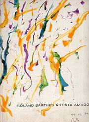 renaud camus roland barthes artista amador 1995 rio de janeiro nada a dizer o inteligencia nua