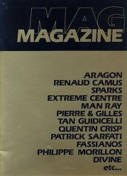 didier lestrade renaud camus magazine homosexuel n° 2 entretien 1982
