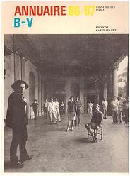 Renaud Camus d'un éloge de ma chambre in annuaire villa médicis 86/87