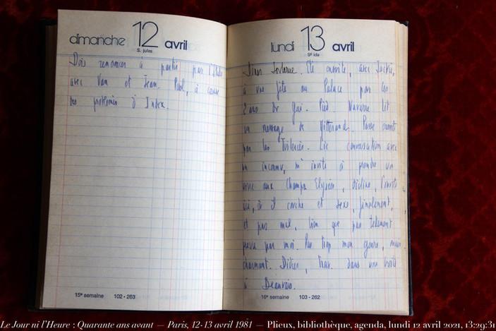 12 & 13 avril 1981