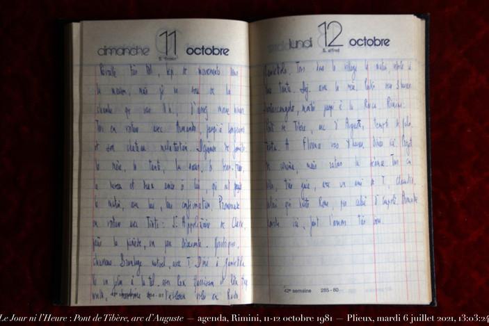 11 & 12 octobre 1981