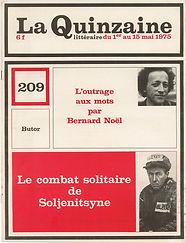 roland barthes interroge renaud camus la quinzaine littéraire n° 209, 1975