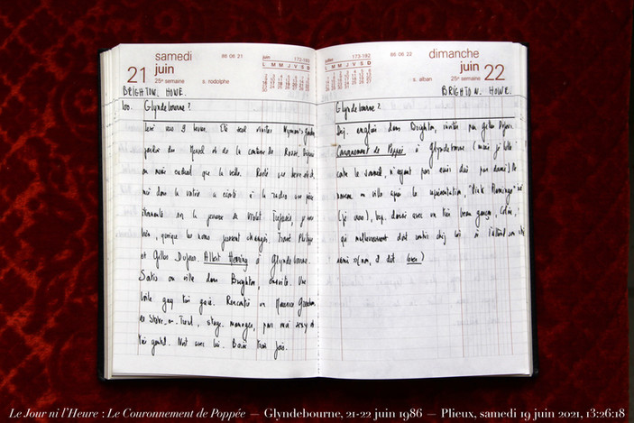 21 & 22 juin 1986