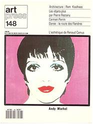 l'esthétique de renaud camus entretien artpress 148, 1990