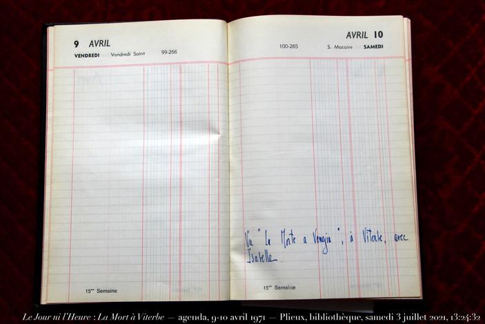 9 & 10 avril 1971