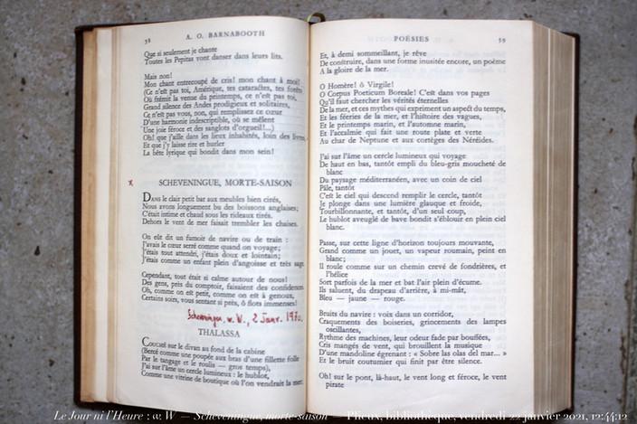 Larbaud, Scheveningue, morte-saison