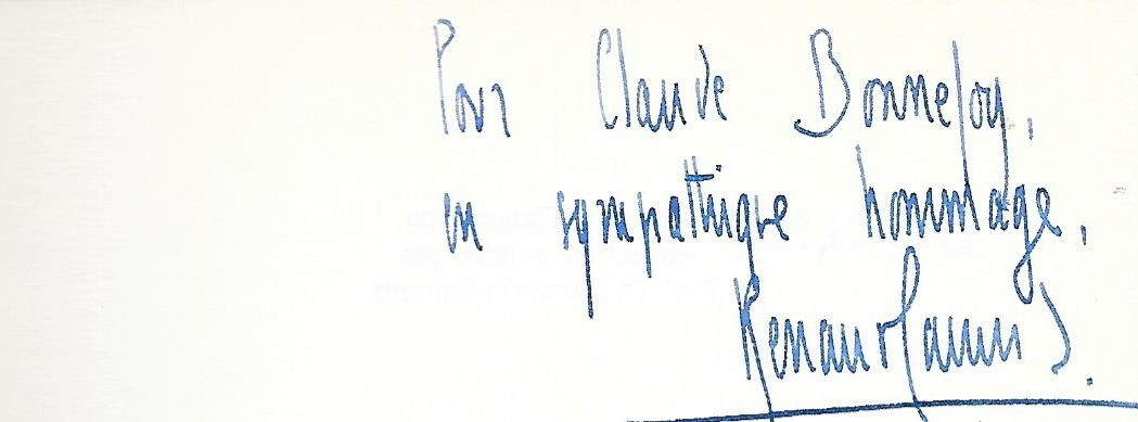 Claude Bonnefoy