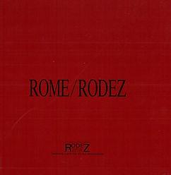 Renaud Camus rome rodez de la villa medicis denys puec 1988