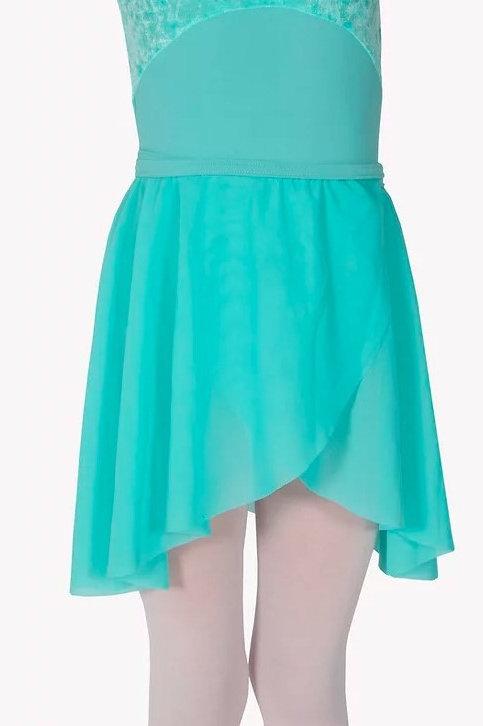 Ballet Mint Wrap Skirt