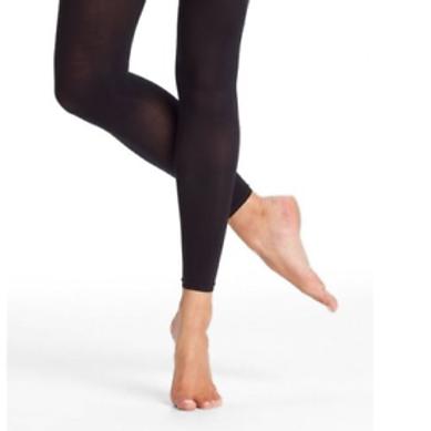 Black Footless Dance Tights