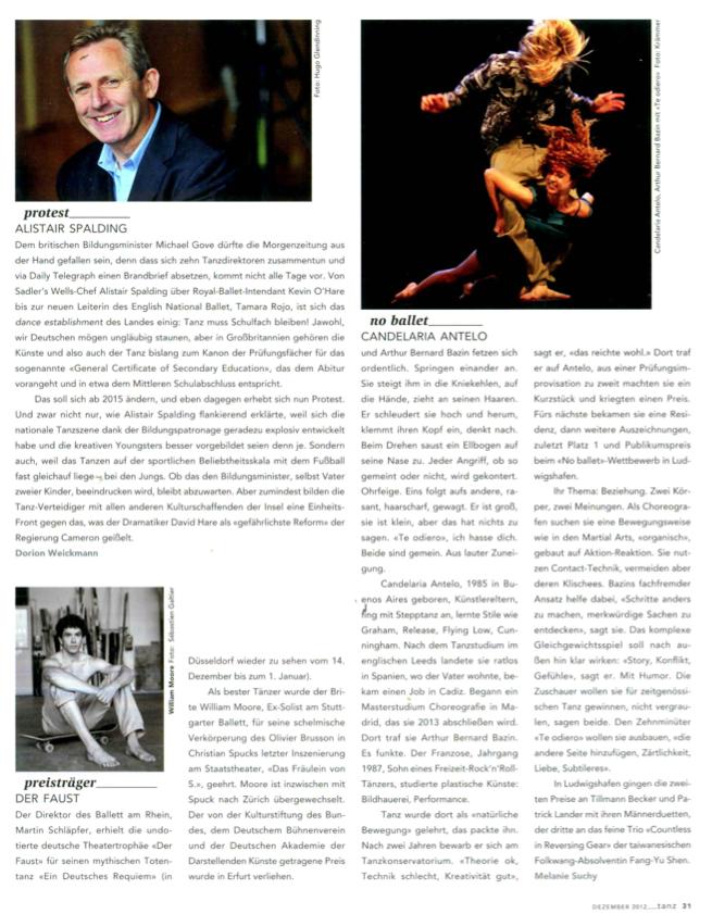 Tanz Magazine