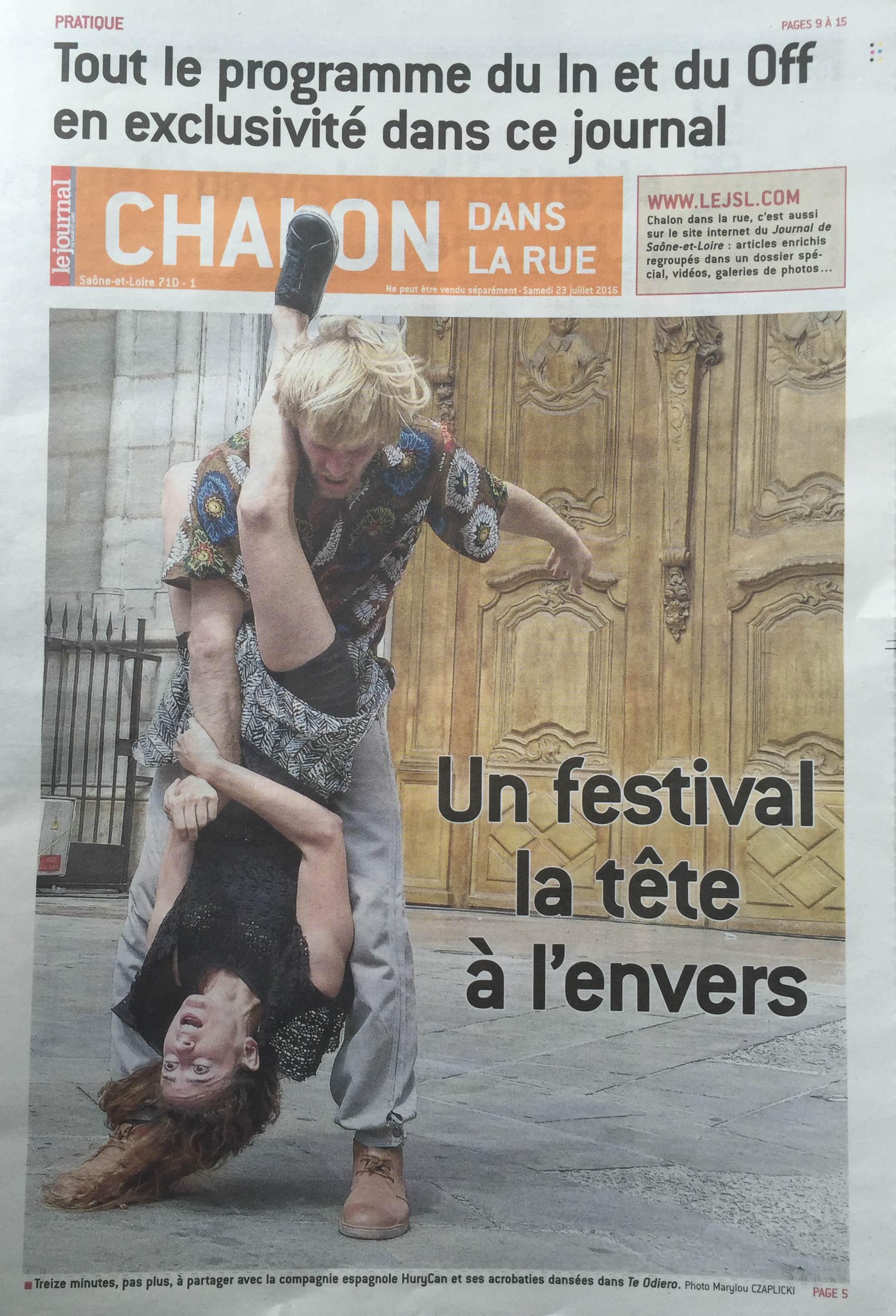Le Journal de Saóne et Loire