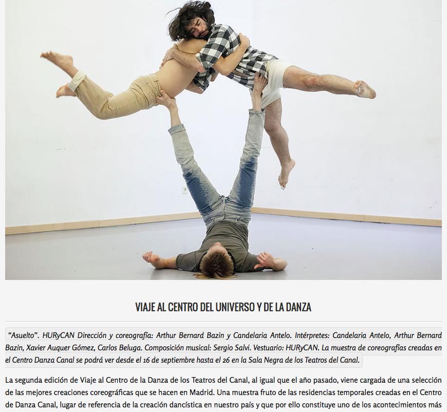 ASUELTO - Platea Magazine