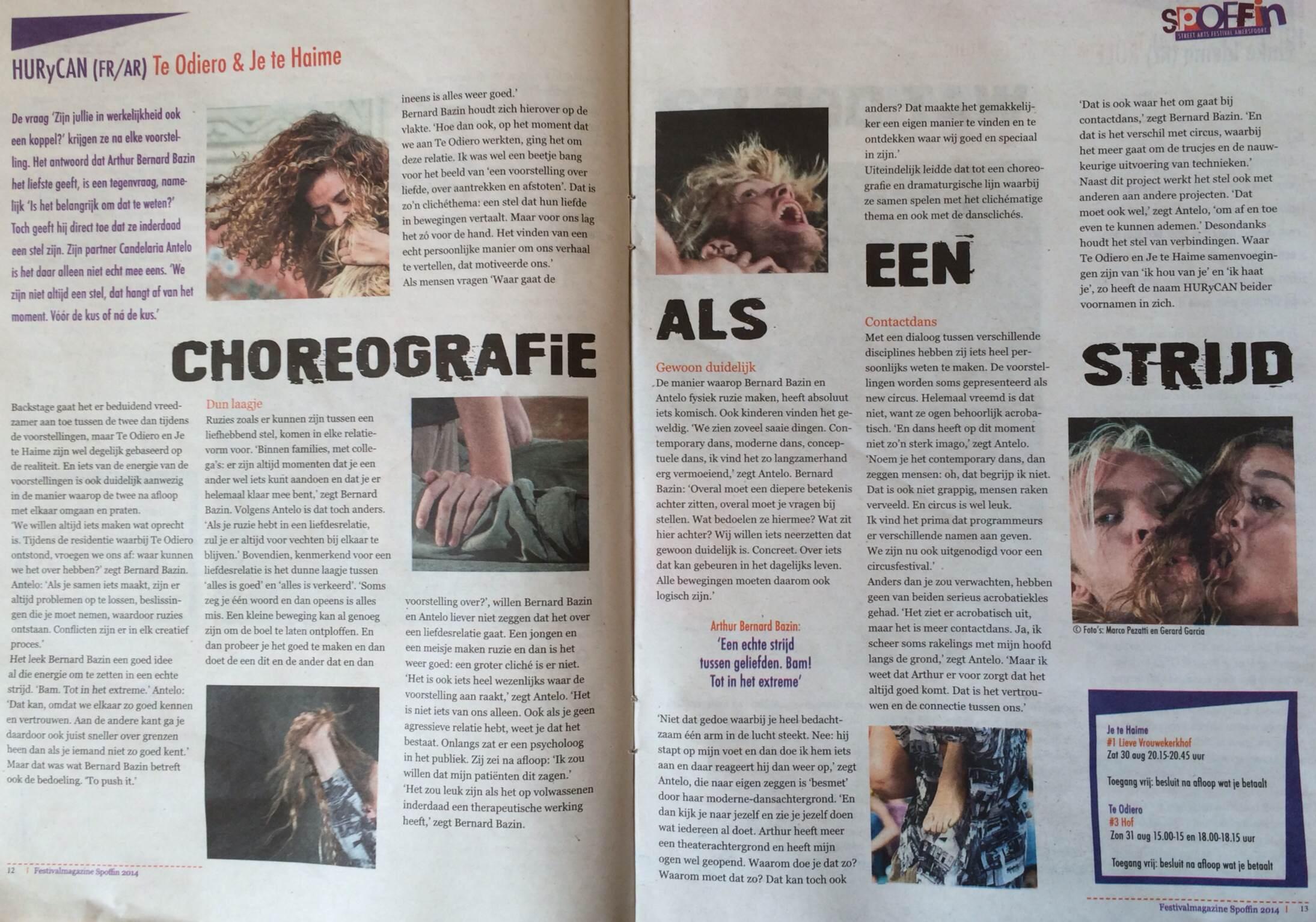 Festival Spoffin - magazine