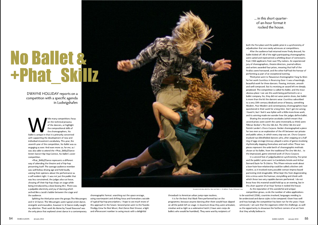 Dance Europe Magazine
