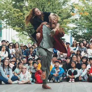 ©Seoul Street Arts Festival Seoul, Corea del Sur 2017