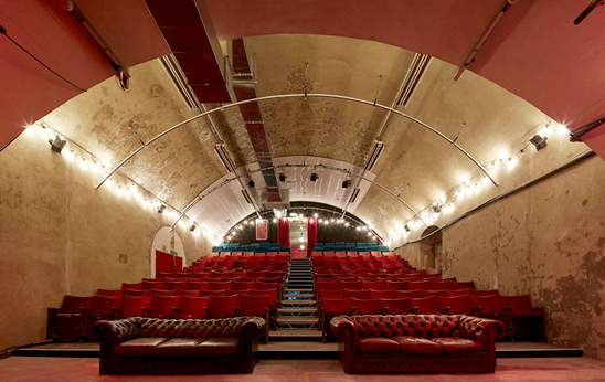 THE VAULTS THEATRE IS COMPLETE!