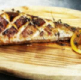 Honey glazed and roasted hake tail.jpg