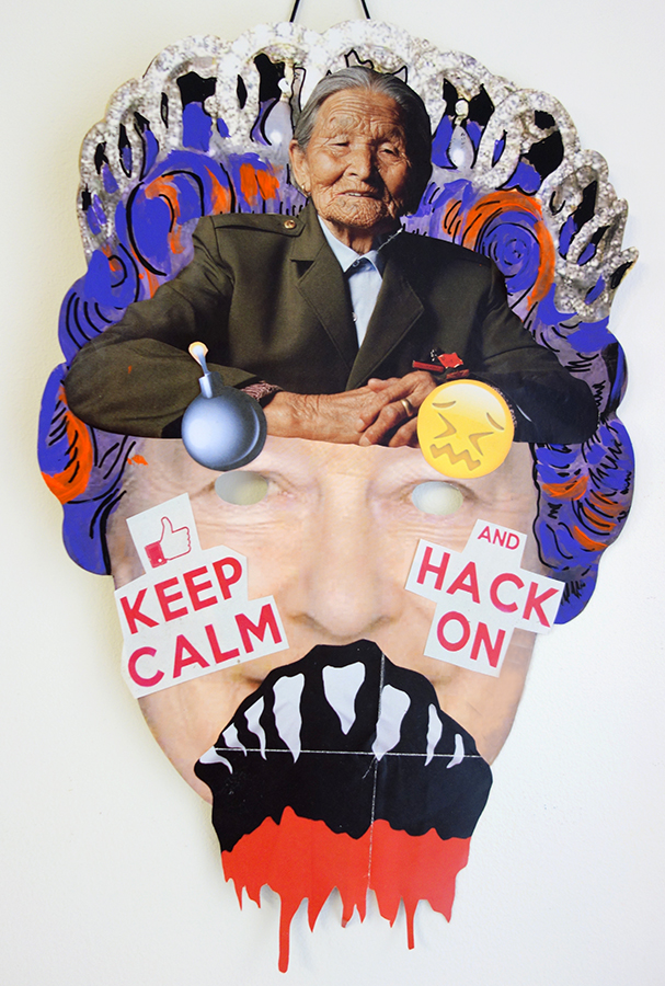 KEEP CALM AND HACK ON QUEENIE