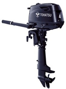 2019 Tohatsu 4hp, 4-Stroke - MFS4DCL
