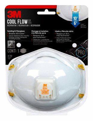 Respirador para Partículas N95 con Válvula de Exhalación Cool Flow