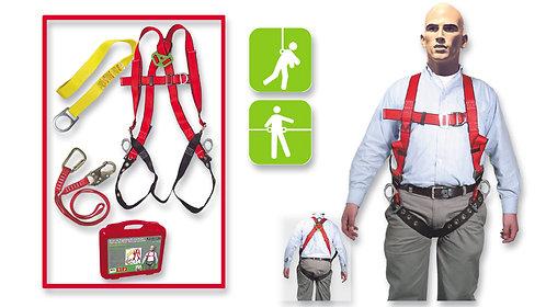 Arnés de Seguridad Contra Caídas•Pélvico-Pectoral,•Gancho Pequeño