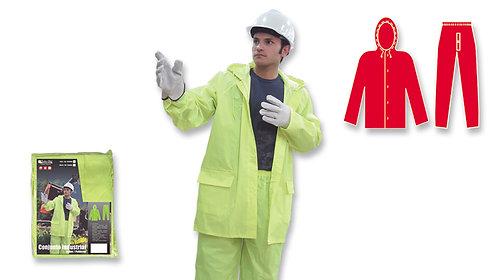 Conjunto Industrial • Pantalón Cintura Elástica • Nylon/PVC • Neón