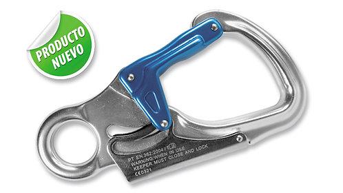Gancho Fijo de Seguridad Doble Cierre – Pequeño – en Aluminio Forjado.