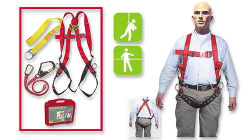 Arnés de Seguridad Contra Caídas•Pélvico-Pectoral•Gancho Grande