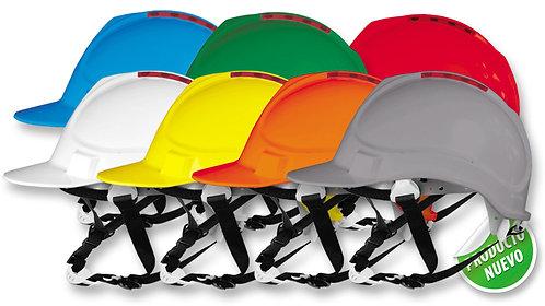 Casco de Seguridad Tipo Industrial•Tafilete de 6 apoyos. Con ratchet