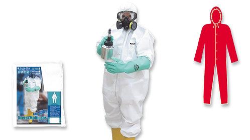 Overol Multiusos Color Blanco • Microporos Poliolefin • Tipo Taivex