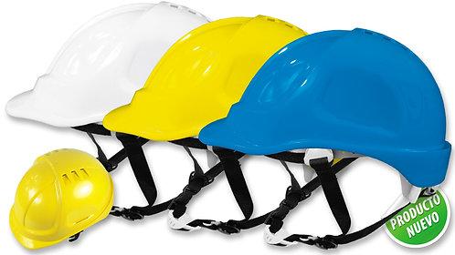 Casco de Seguridad Tipo Industrial •Barbuquejo de 4 apoyos.Con ratchet.